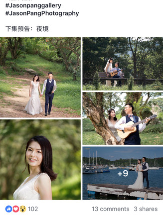 《Wedding Anniversary Photography in Hong Kong - Part I 愛的故事上集》