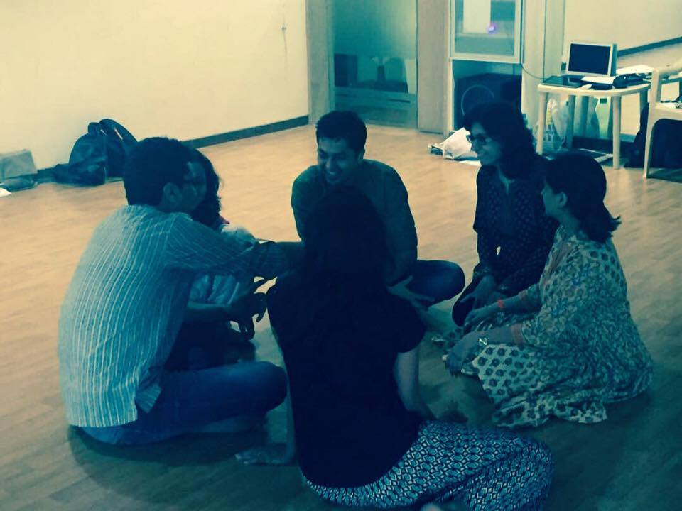 Group Building through Dramatherapy