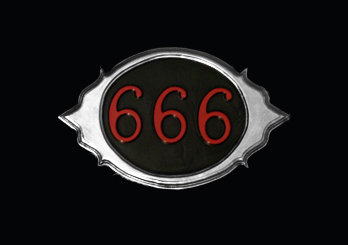 666 Wall Plaque