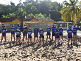 ALL SMILES, AS HANDBALL RETURNS TO THE BEACHES OF PUERTO RICO
