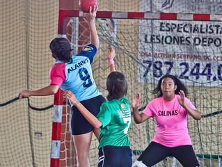 Balonmano Presente en el 3er Festival Olímpico Femenino