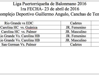 Comienza la Liga Puertorriqueña de Balonmano