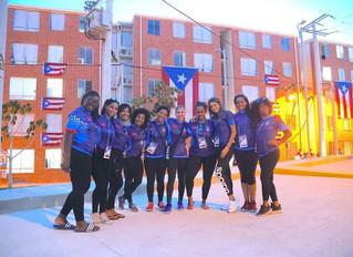 Integrantes de Balonmano en Barranquilla 2018