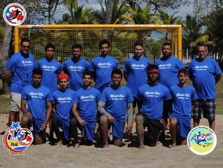 Puerto Rico presente en el Primer Panamericano Juvenil de Balonmano Playa
