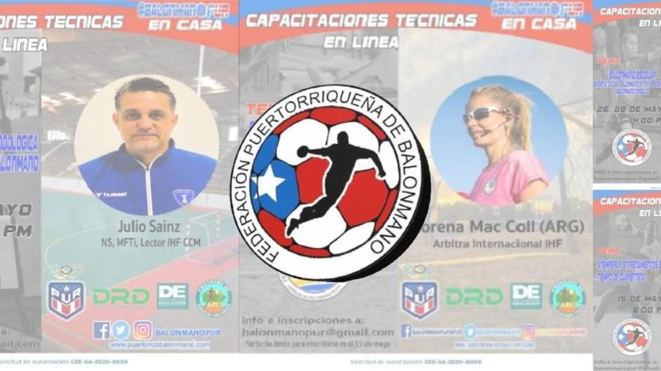 La Federación Puertorriqueña de Balonmano Lanza Seminario Online