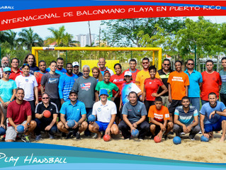 Primer Curso de Balonmano Playa en Puerto Rico