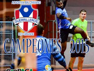 Guerrilleros de Río Grande Campeones 2015