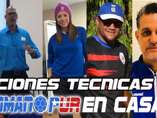 El Balonmano Puertorriqueño comienza con capacitaciones para Entrenadores y Atletas. #BalonmanoPURen