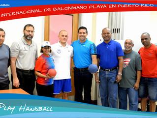 Apoyo del Departamento de Recreación y Deportes al Balonmano y Balonmano Playa