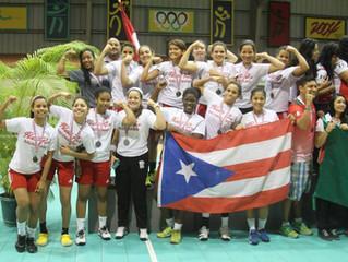 PUR (femenino) Plata en IHF Trophy Norte – PUR 2014
