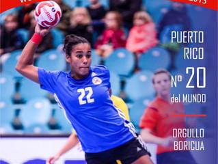 Puerto Rico finaliza número 20 en el Mundial Adulto Femenino