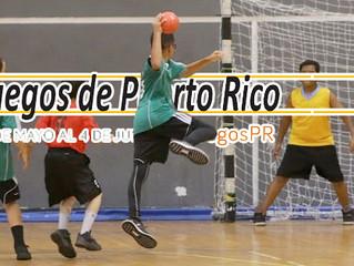 Balonmano Presente en los Juegos de Puerto Rico 2016