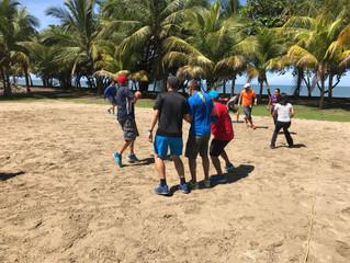 Curso para Maestros de Educación Física de Balonmano Playa en el Oeste