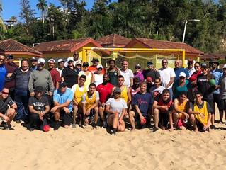 50 Puerto Rico teachers participate in IHF beach handball course