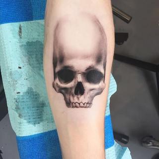 Skull Fade to White Menton3