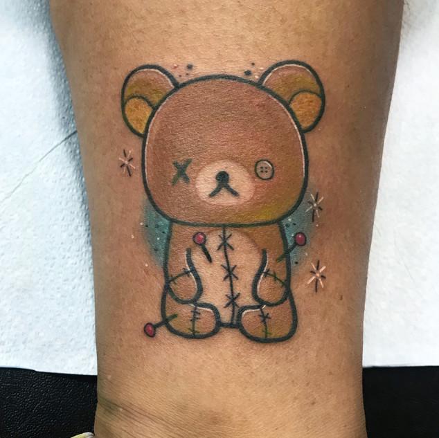 elenaxsakura voodoo doll bear