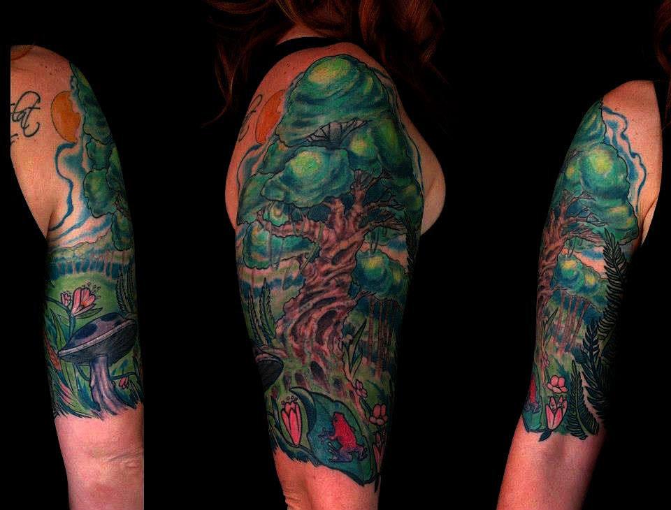 Best Portrait Tattoo Artist Denver Girl Cut Off Her