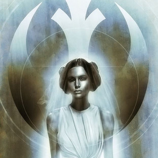 Princess Leia Star Wars Menton3