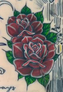 Early Color Work, Traditional Roses