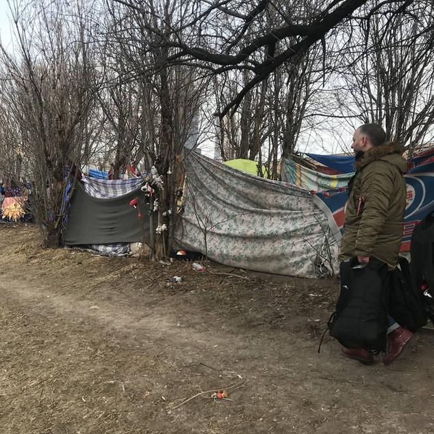 Maxwell Street Tent City