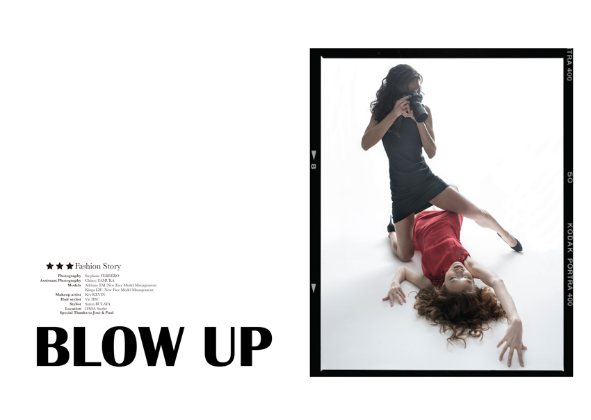 Blow up, fashion story