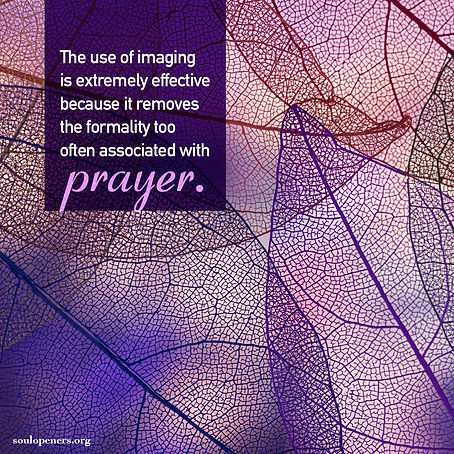 Imaging is effective as prayer.