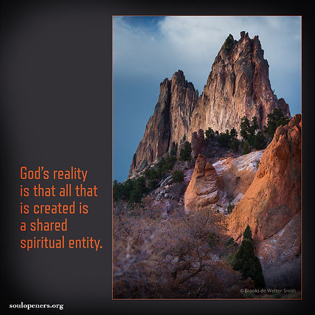 All is a shared spiritual entity.