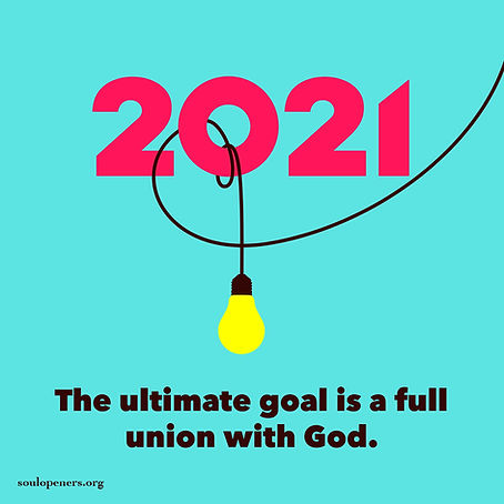 Goal is union with God.