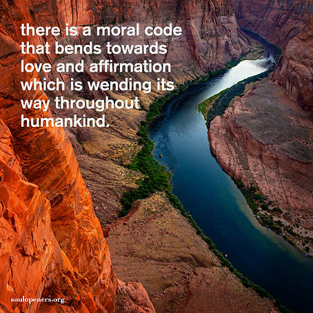 Moral code of love and affirmation.