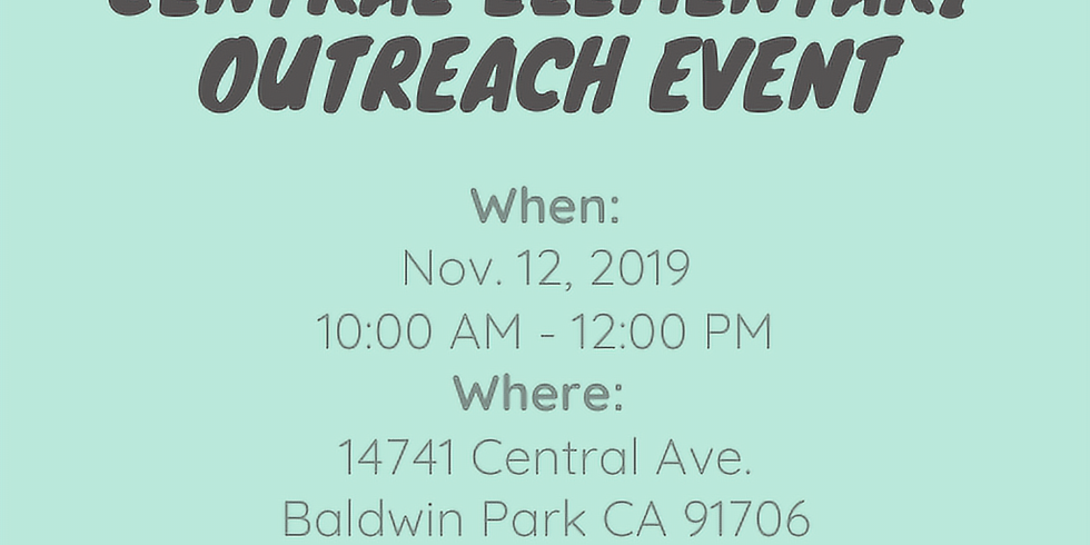 Central Elementary Outreach Event