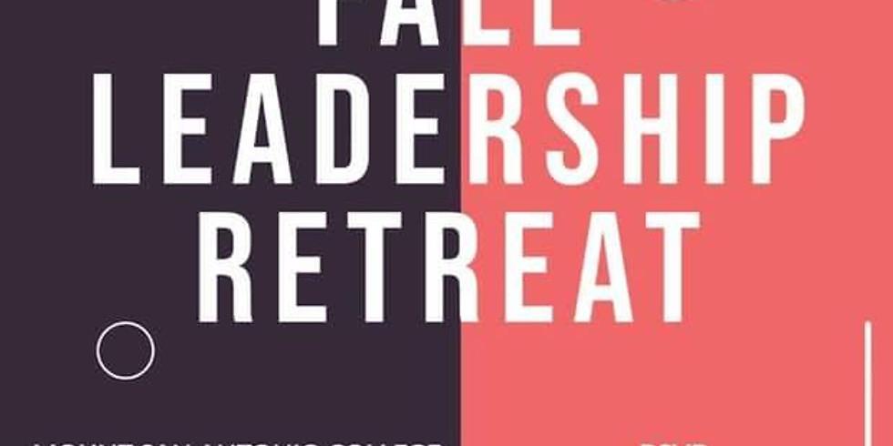 Fall Leadership Retreat