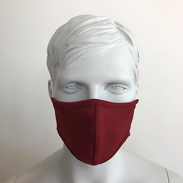 Befeni Kindermaske Weinrot