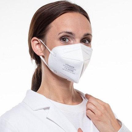 FFP2 Maske - Testsieger im 6er Pack (CE Zertifiziert)