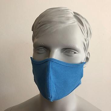 Befeni Kindermaske Hellblau
