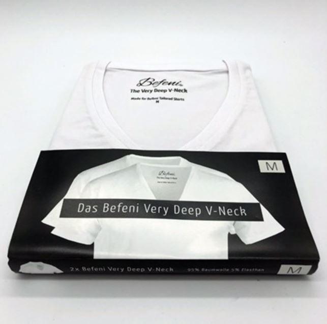 Befeni V-Neck Shirt Unterhemd
