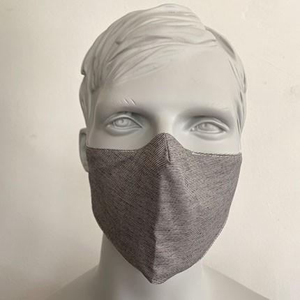 Gesichtsmaske Filter Nasenbuegel Grau Me