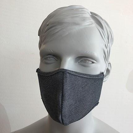 Befeni Kindermaske Grauweiss
