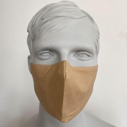 Gesichtsmaske Filter Nasenbuegel Caramel