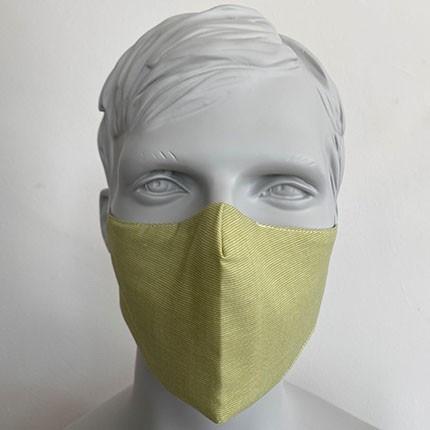 Gesichtsmaske Filter Nasenbuegel Hellgru