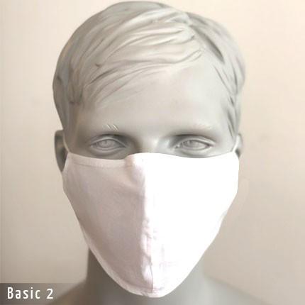 Gesichtsmaste - Baumwollmaske Basic 2