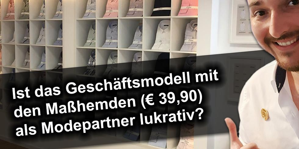 Präsentation Modepartner Geschäftsmodell - Ostersonntag