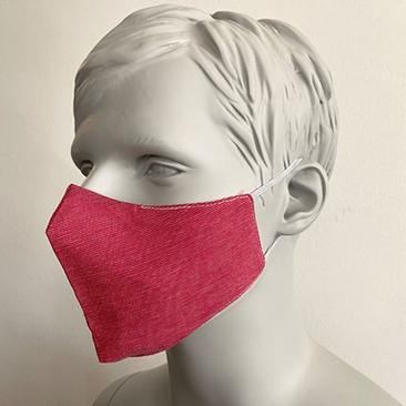 Gesichtsmaske Filter Nasenbuegel Dunkelp