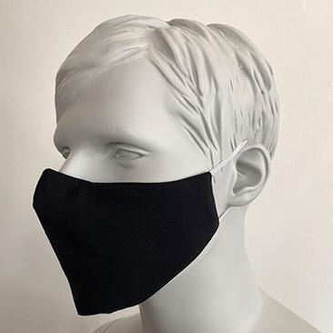 Gesichtsmaske Filter Nasenbuegel Schwarz
