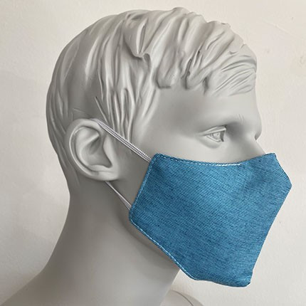 Gesichtsmaske Filter Nasenbuegel Dunkelt