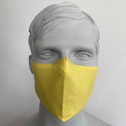 Gesichtsmaske Filter Nasenbuegel Gelb.jp