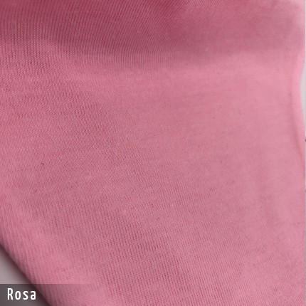 Gesichtsmaske - Baumwollmaske im T-Shirt Stoff - Rosa Stoff
