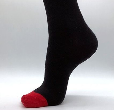 Red toes - Befeni Socken