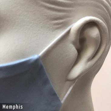 Befeni Gesichtsmaske - Baumwollmaske Memphis