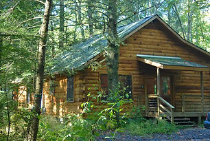 Log Cabin on Neil's Creek