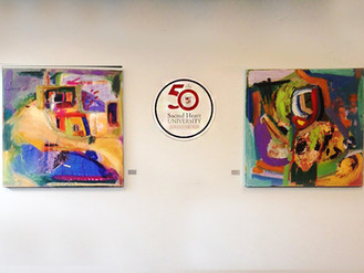 Picture That Art Consultants Displays Sholeh Janati's Artwork in Sacred Heart University's S